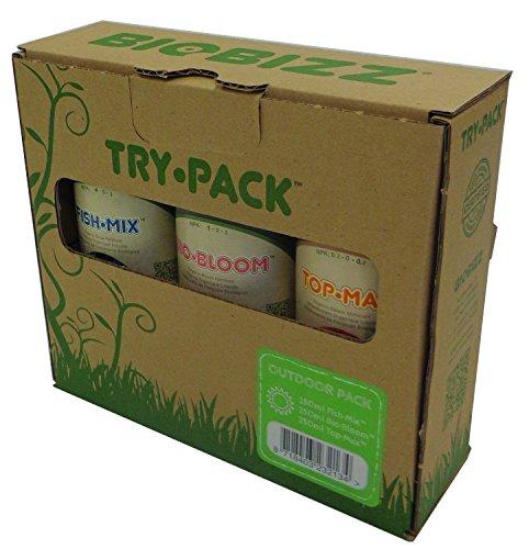 BioBizz try-pack Outdoor 3 x 250ml