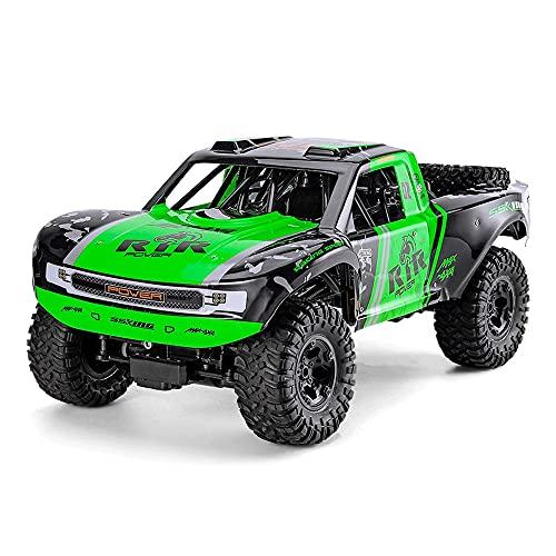 VanFty Gran coche teledirigido 2.4 GHz RC Drift coche de carreras escala 1: 8 Todo Terreno...
