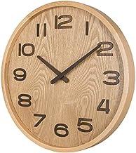 TXL ساعة حائط خشبية 14 بوصة صامتة كبيرة 3D خشبية رقمية غير زجاجية ساعات الحائط تعمل بالبطارية غير موقوتة لطاولة ليلية ديكو...