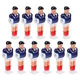 Gadpiparty 11 Piezas de Futbolín de Repuesto para Hombres Jugadores de Mesa de Fútbol Partes de Minijuegos de Hombre Juguetes para Juegos de Mesa de 8Mm