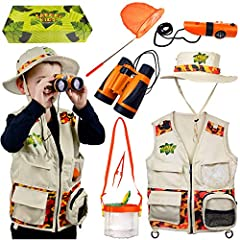 🐞 Start your child's Safari today with Kidz@Play! This complete gift set has everything they'll need to begin their Outdoor Adventure. Whether it is in the backyard, family trips or camping, it is the perfect exploration set for the adventurous, imag...
