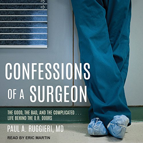 Confessions of a Surgeon audiobook cover art