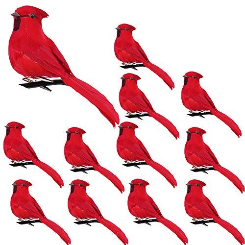 Cardinal Bird Ornaments