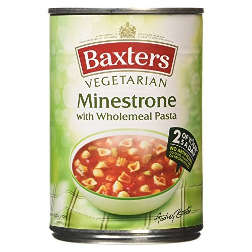 Baxters Vegetarian Minestrone with Wholemeal Pasta, 400g