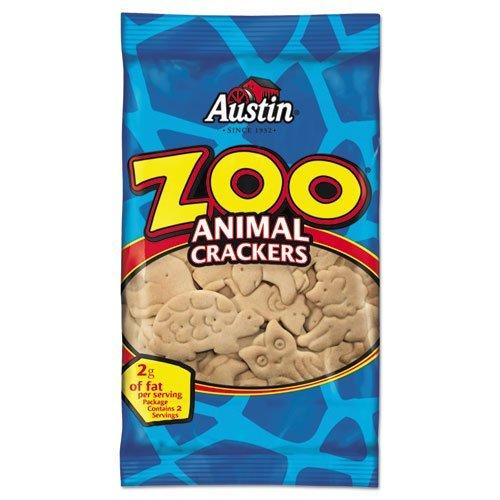Austin Zoo Animal Crackers Original Overseas parallel import regular item San Antonio Mall Pack 2oz Carton 80