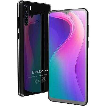 """Smartphone Offerta, Blackview A80 Plus Cellulari Offerte, Android 10 Octa-core, 6.49"""" 19:9 HD+ Schermo, 4GB+64GB, 4680mAh, Fotocamera 13MP+8MP, Dual SIM-Nero"""