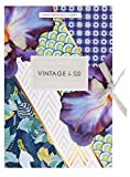 Vintage trecce e Fioriture 6Foglio per cassetti, Multicolore
