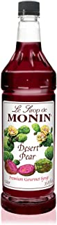 Monin -, Bold Flavor of Prickly Pear Cactus, Natural Flavors, Great for Iced Teas, Lemonades, Cocktails, Mocktails, and So...