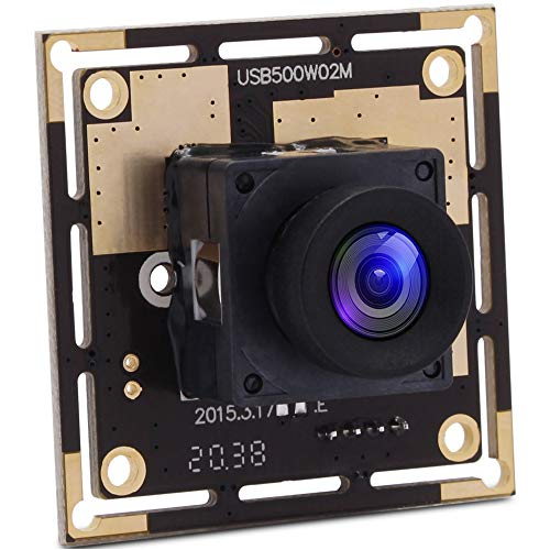 SVPRO 5MP Autofocus USB Camera Module, 2592x1944 Mini Webcam with Non-Distortion Lens USB Sercurity Camera CMOS OV5640 for Telescope Endoscope Microscope