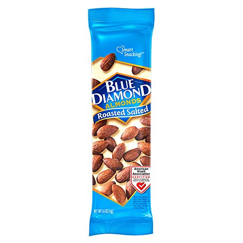 Blue Diamond Almonds Roasted Salted 15 Ounce Pack of 12