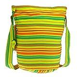 Fair Trade geräumige Einkaufstasche - Baumwolle - verschiedene Farben - Tasche fairtrade (Blaze)