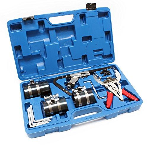 Pinza per fasce elastiche Set di valigie per montare e pulire le fasce elastiche