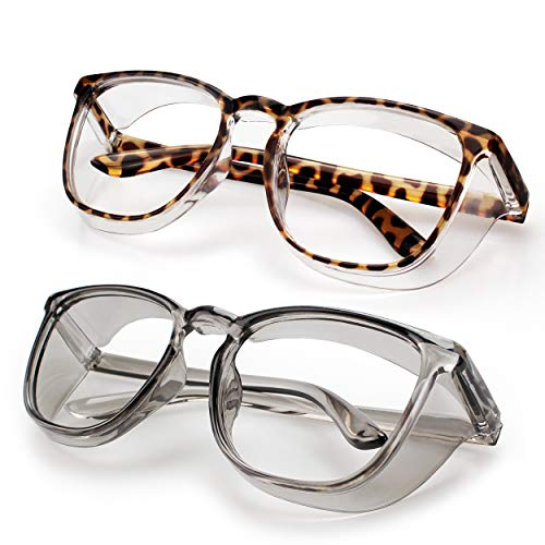 LeonDesigns Safety Glasses Anti-Fog Blue Light Goggles Eye Protection Women