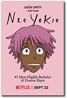 LYWUSUZE Yokio Season 2017 TV Show Funny Art Posters and Prints Poster Canvas Painting..