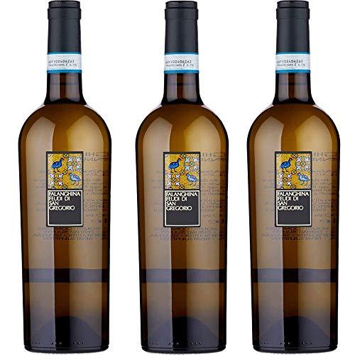 Falanghina Feudi di San Gregorio | Confezione da 3 Bottiglie da 75 Cl | Vino Bianco | I Vini della Campania | Idea Regalo