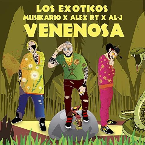 Los Exóticos feat. Musikrio, Alex RT & Al-j