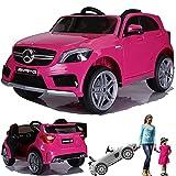 SIMRON - Mercedes-Benz A45 AMG SUV Ride-On 12V Kinderauto Kinderfahrzeug (Schwarz)