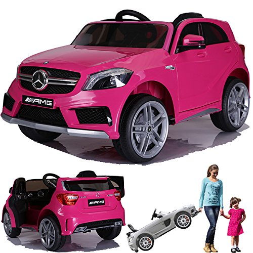SIMRON - Mercedes-Benz A45 AMG SUV Ride-On 12V Kinderauto Kinderfahrzeug (Schwarz)*