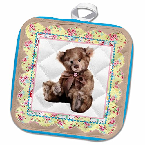 Must Have 3d Rose Teddy S Family Pot Holder 8 X 8 From 3drose Ibt Shop