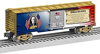 Lionel Presidential Series William McKinley, Electric O Gauge Model Train Cars, Boxcar