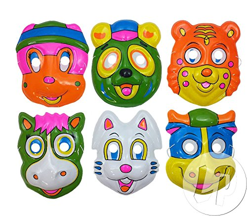 Fiesta Palace - masque coque animaux enfant mix-7