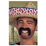 Boland 01807 - Schnurrbart Mexikaner, Einheitsgröße, schwarz