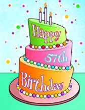 Happy 57th Birthday: Discreet Internet Website Password Organizer, Birthday Gifts for 57 Year Old Men and Women, Brother or Sister, Son or Daughter, Mom or Dad, Grandma or Grandpa, Friendship
