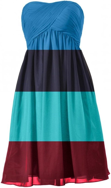 DaisyFormals® Short Maternity Dress Strapless Bridesmaid Dress(BM10821S)