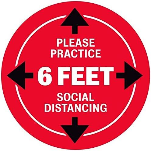 Social Distancing Floor Decals Practice Rapid rise Please Distanci - Popular popular