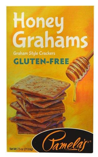Pamela's Products Gluten-Free Graham Crackers Honey -- 7.5 oz (Pack of 12)