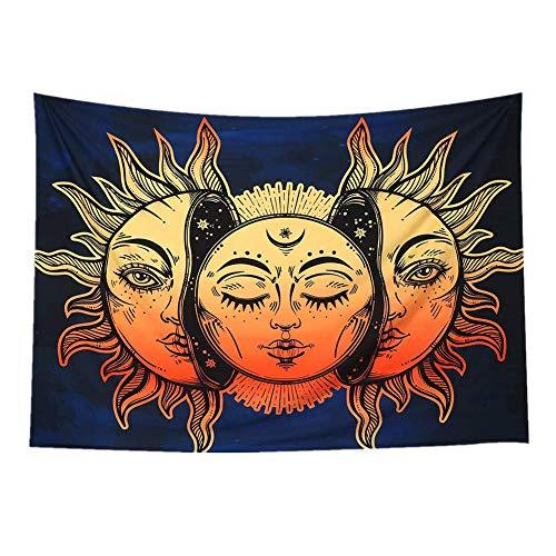 YJingMM Tapiz De Pared Tapiz Tarot Frais Belle Tapestry Individualidad ArtíStico Tapices Pared por Pared Cuarto Cocina 200 * 150