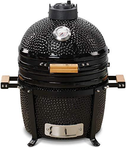 Kamado BONO Minimo, classic 15 Inch Kamado BBQ smoker, oven and grill