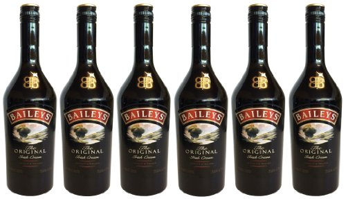 BAILEYS Original Irish Cream Liqueur (6 X 0,7L) - Creme Likör 17 % Vol.