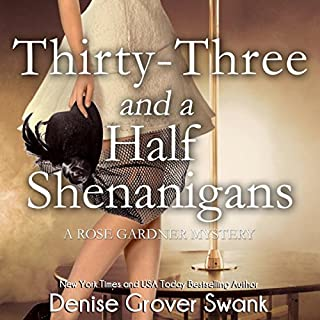 Thirty-Three and a Half Shenanigans audiobook cover art