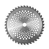 Oumefar 10Inch 40Tooth Carbide Tip Brush Cutter Blade para carpintería Carpintería Cortadora de césped