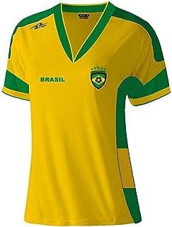 8407f19fa31f3 Arza Sports Brasil Slim - Playera de fútbol para Mujer