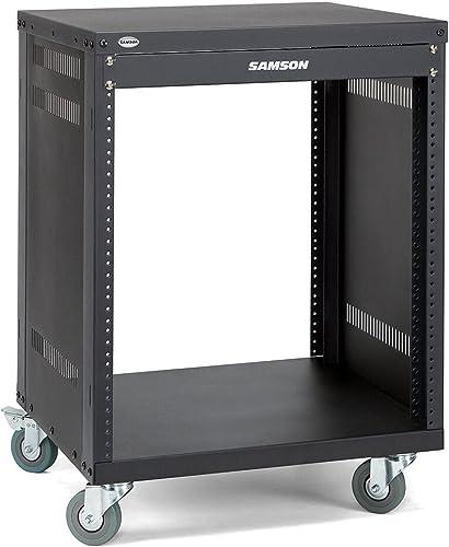 """Samson SRK12 Meuble rack 19"""" 12 unités Noir"""