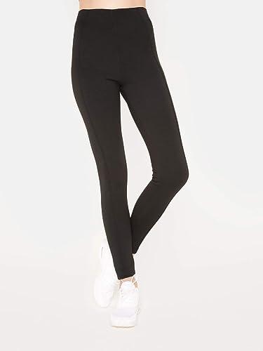 M la Vie de la Femme Scuba Legging Noir, XL