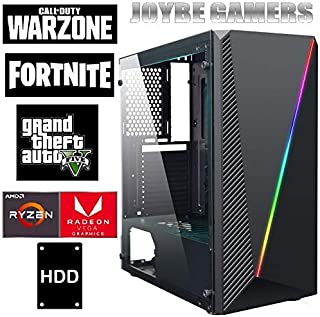 Pc Gaming Joybe Ryzen 5 3400G 3,70 GHz X4 HDD 1Tb 8Gb Ddr4 Grafica Radeon RX Vega 11 Windows 10 Pro Ordenador de Sobremesa Gaming Juegos PC