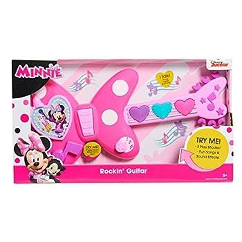 Minnie Happy Helpers Rockin  Guitar Pink