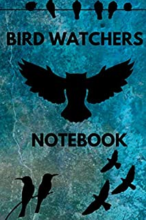 Bird Watchers Notebook: Track Your Sightings Perfect Gift For Birder Lovers Diary For Beginners Birdwatchers Indentification Pocket Diary Wildlife