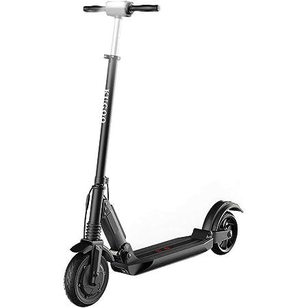 Patinete Eléctrico para Adultos, KUGOO S1 Scooter Electric Plegable Velocidad Máx 30 km/h, 350 Vatios, Batería 7.5Ah, Altura del Manillar Ajustable, ...