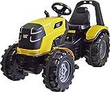 Rolly Toys 640096 RollyToys RollyX-Trac Premium Cat - Tractor a Pedales para niños de 3 a 10 años (neumáticos silenciosos, Asiento Ajustable), Color Verde