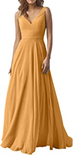 Best yellow evening dresses chiffon Reviews
