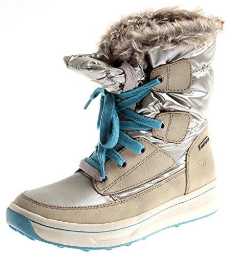 Tamaris 1-26227 Damen Winter Boots Snow-Boot Winterschuhe Duo-Tex Silber 2.te Wahl EU 39