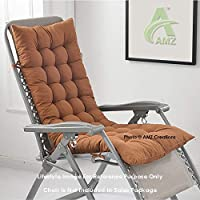 Brand: AMZ Color: Dark Brown Material: Cotton With Finest Microfiber Filling Size: 48 x 16 Inches Product Type: Chair Pad/ Cushion
