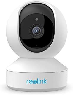 Reolink E1 Pro 4MP Wireless Security Camera Indoor Pan Tilt 2.4GHz 5GHz WiFi Surveillance, with 2 Way Audio Motion Alerts ...