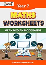 Year 7 Maths Worksheets: Statistics - Mean, Median, Mode and Range