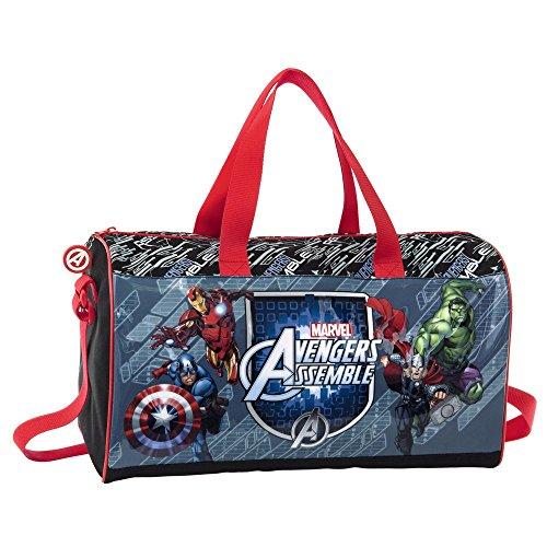 Marvel Borsa da Viaggio Avengers, Multicolore, 21.17 Litri, 42 cm