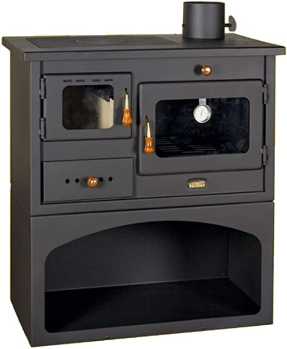 Cucina a legna originale modello prity *cert. 3 stelle* omaggio pietra lavica - godino B07RGGNLXM